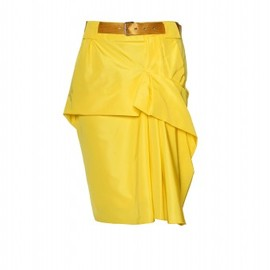MARC JACOBS - BELTED ASYMMETRICALLY DRAPED SKIRT