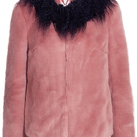 Shrimps - Fifi faux shearling-trimmed faux fur coat