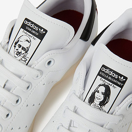 STELLA McCARTNEY, adidas - white x adidas stan smith Faux Leather sneakers
