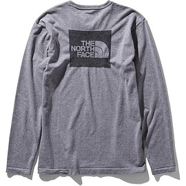 THE NORTH FACE - L/S Square Logo Jacquard Tee