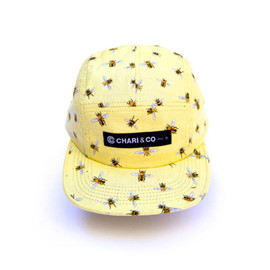 CHARI & CO NYC - 5Panel Leopard Cap