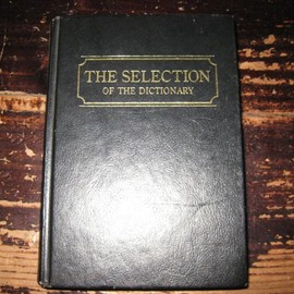 THE SELLECTION OF THE DICTIONARY