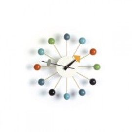 George Nelson - Ball Clock - George Nelson mehrfarbig