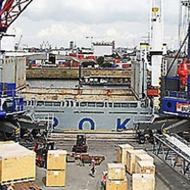 Hamburg / Germany - Hamburg Multipurpose Terminal
