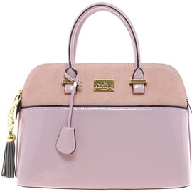 Paul's BOUTIQUE - Pauls Boutique Maisy Suede Patent Bag - Paul's Boutique