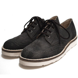 CEBO - Suede Wing Tip Shoes