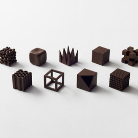 nendo - chocolatexture