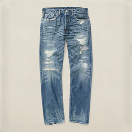 Double RL (RRL) - Low Straight Galveston Jean