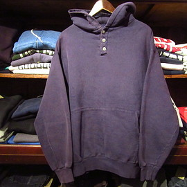 L.L.Bean, Russell Athletic - Henry Neck Hoodie (vintage)
