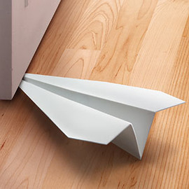 Fred and Friends - Paper Airplane Doorstop