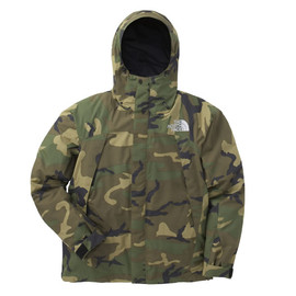 THE NORTH FACE - MOUNTAIN JACKET 迷彩