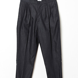 OTHER/man - OTHER/MAN KARL TRIPLE PLEAT TROUSER