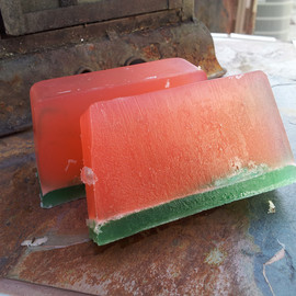 trendytrinketsbymely - Fresh Watermelon Bath Soap