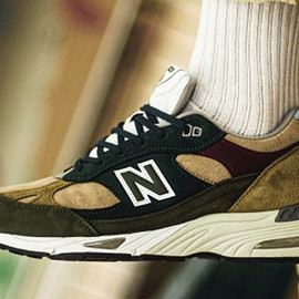 New Balance - M991 - Tan/Green