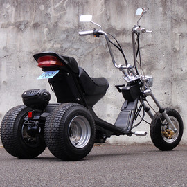 Honda - 四十号機 ROAD FOX GYRO-S CUSTOM