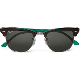 Ray-Ban - Clubmaster Two-Tone Sunglasses