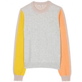 KENZO - COLOUR BLOCK KNIT PULLOVER