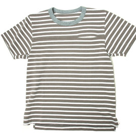 sacai - Border Pocket Tshirt S/S