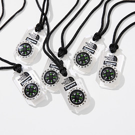Supreme, THE NORTH FACE - Compass Necklace