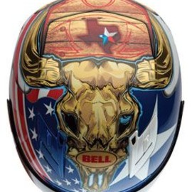 BELL - Powersports limited edition Texas-themed Star Carbon helmet for COTA!