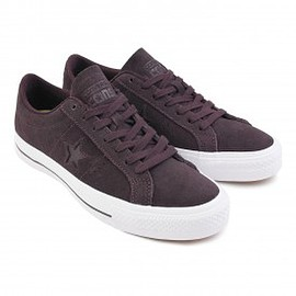 converse - Converse Cons One Star Skate Shoes in Black Cherry / White - Pair