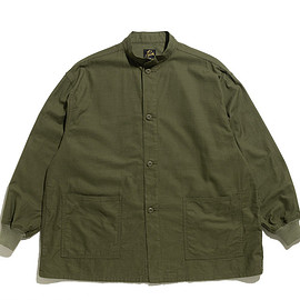 NEEDLES - S.C. Army Shirt-Back Sateen-Olive
