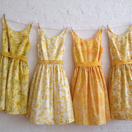 sohomode on Etsy - vintage inspired tea dresses for your wedding -