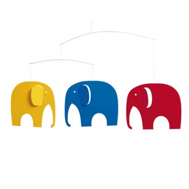 Flensted Mobiles - MOBILE elephant party