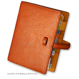 Franklin Covey (Franklin Plannner Japan) - Dakota Binder (Compact size Orangebrown)