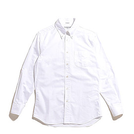 INDIVIDUALIZED SHIRTS - BD Shirts Standard Fit Cambridge Oxford-White