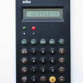 BRAUN - ET66 Calculator