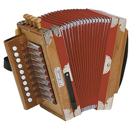 HOHNER - 3002 Ariette Cajun-Style Diatonic Accordion - Natural