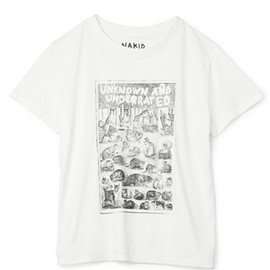 NAKID by G.V.G.V - UNKOWN AND UNDERRTED TEE