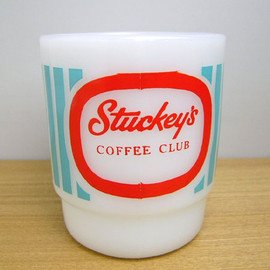 Fire King - Stuckey's Coffee Club mug cup