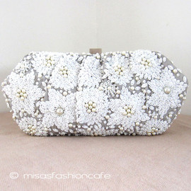 SANTI - Snow Flower Bag