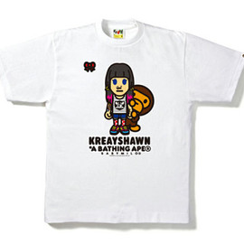 A BATHING APE - Kreayshawn Limited Edition T-Shirt