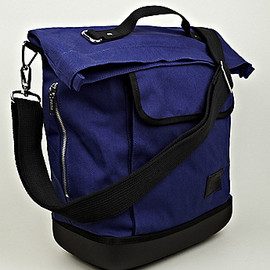 EASTPAK, KRIS VAN ASSCHE - Cotton Shopper bag in Blue