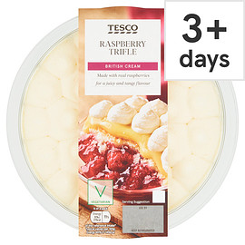 Tesco - Raspberry Trifle 600G