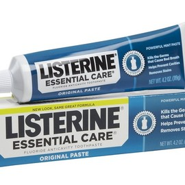 Listerine - Essential Care Powerful Mint Paste