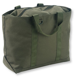 L.L.Bean - Hunter's Tote Bag, Zip-Top