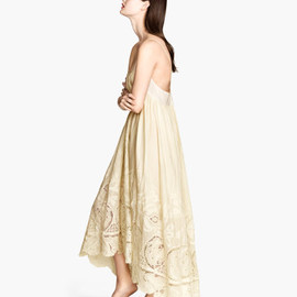 H&M - Embroidered cotton dress