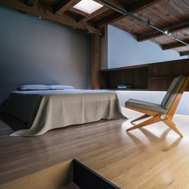 Line Office Architecture - Bedroom in a San Francisco Loft