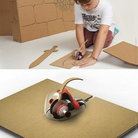 quirky - Box Bug - cut cardboard safely