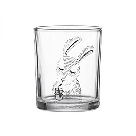 bloomingville - bloomingville rabbit glass
