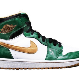 Nike - NIKE AIR JORDAN 1 RETRO HIGH OG CLOVER/METALLIC GOLD/WHITE/BLACK