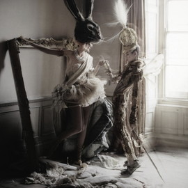 "Tim Walker - ""Lady Grey"" by Tim Walker for Vogue Italia, March 2010"