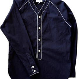 NuGgETS - Classic Baseball Shirt (navy)