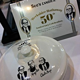 see's candies - 50th anniversary candy jar