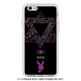 SECOND SKIN - 友星 (Yusei Sagawa) 「Power」 ブラック×パープル (ソフトTPU半透明) / for iPhone 6/Apple