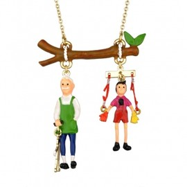 N2 by Le Nereides - N2・バイ・レ・ネレイド(N2 by Les Nereides)ネックレス PINOCCHIO AND GEPETTO LONG NECKLACE 1